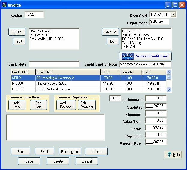 The intuitive layout of this software makes it easy to learn and use.
